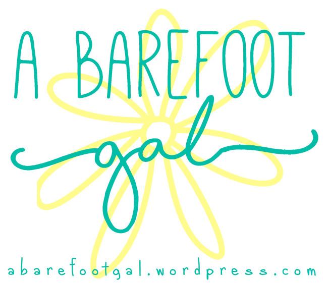 a barefoot girl