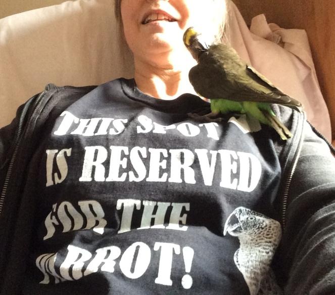 Hetty on T-Shirt
