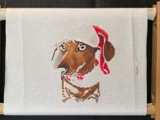 christmas dachshund 3