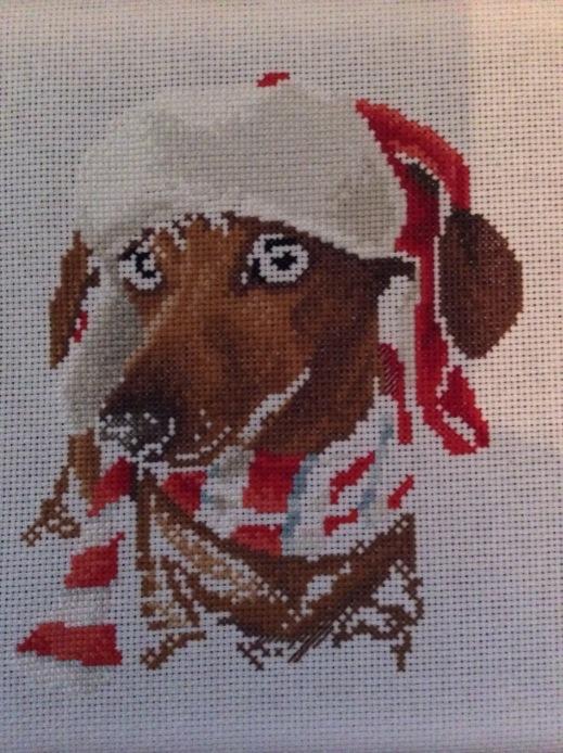 christmas dachshund 6