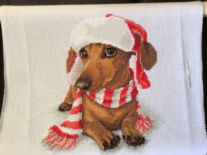 dachshund no backstitch