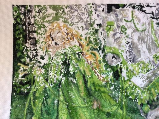Lady greensleeves - in detail