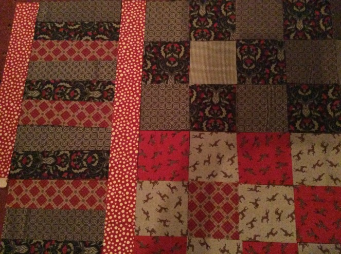 Stag Quilt 1