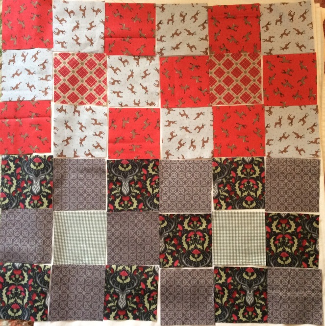 Stag Quilt 3