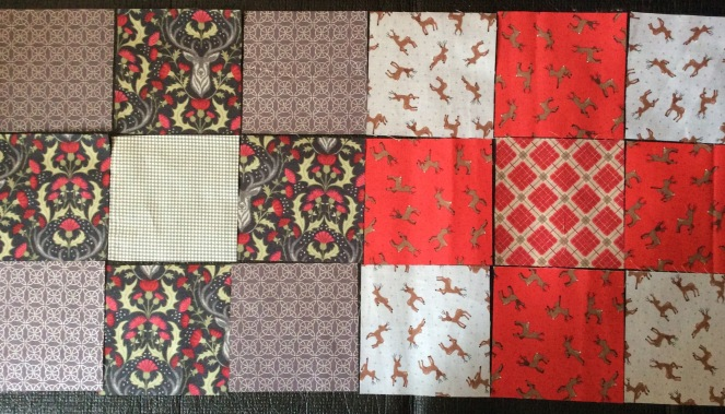 Stag Quilt 4