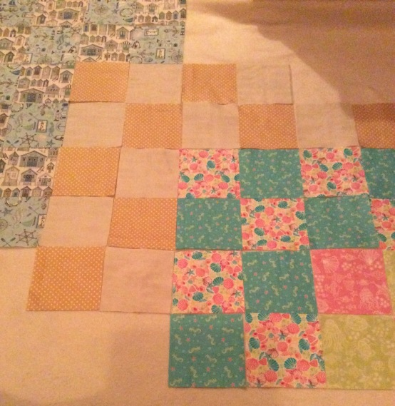 beside the sea quilt 2