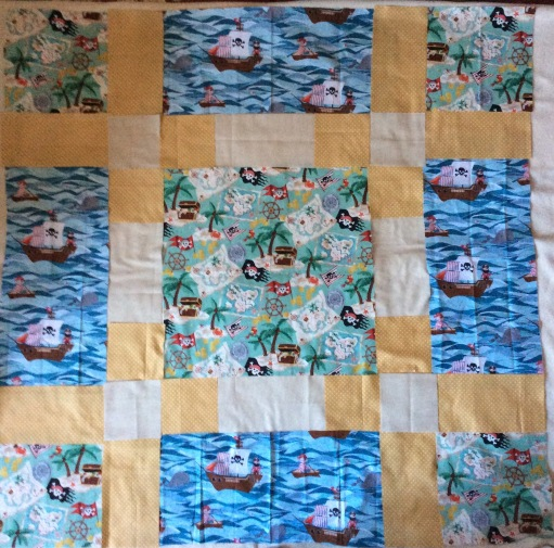 quilt - pirate surround