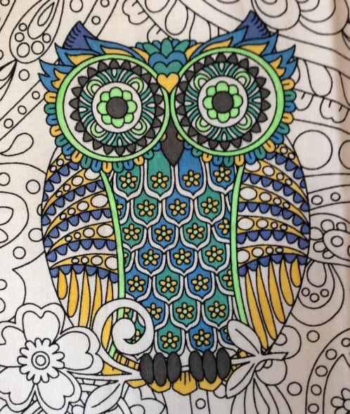 owls peacock
