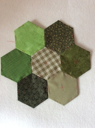 graduated hexagons
