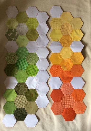 seasonal hexagons section 2