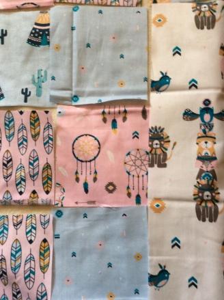 Indian quilt details