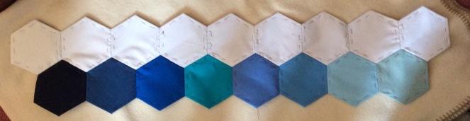 border piece blue