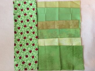 green pillow material 1